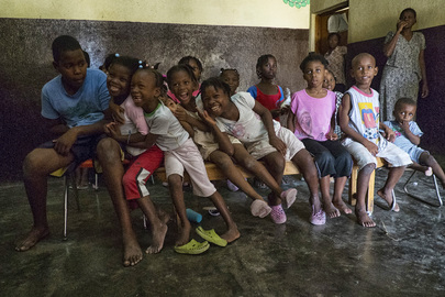 Children at Orphanage in Les Cayes