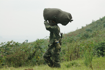 FARDC Soldier Rotation in Eastern DRC