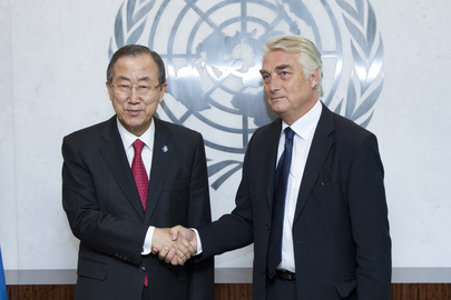 Secretary-General Meets New Permanent Representative of Slovenia