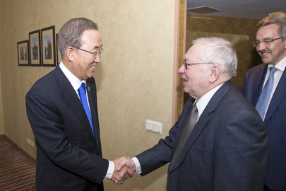 Secretary-General Meets Russian Ombudsman for Human Rights