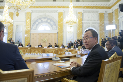 Secretary-General Attends G-20 Summit in St. Petersburg