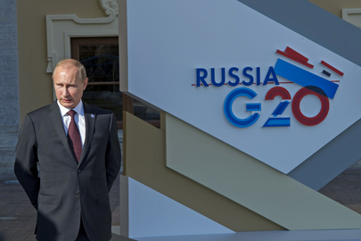 Russian President Hosts G-20 Summit in St. Petersburg