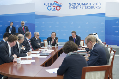 Meeting on Syria Humanitarian Situation, on Margins of G-20 Summit