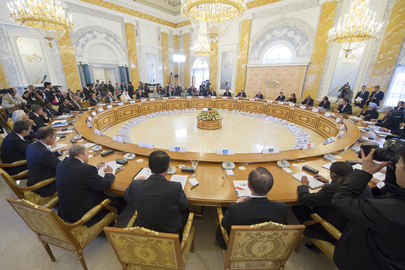 Leaders' Second Working Session of G-20 Summit, St. Petersburg