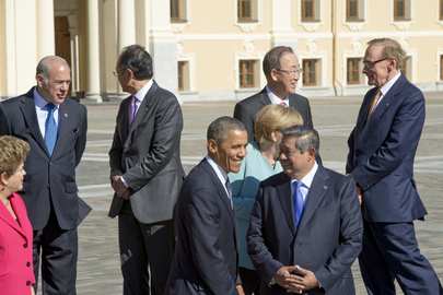 World Leaders at G-20 Summit, St. Petersburg