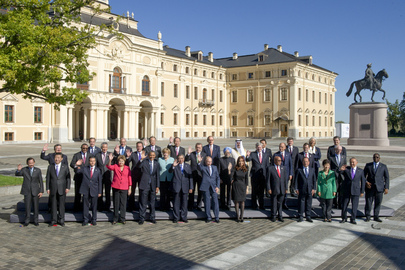 Group Photo of World Leaders at G-20 Summit, St. Petersburg