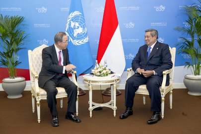 Secretary-General Meets President of Indonesia