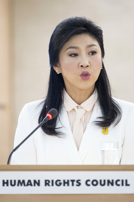 Thai Prime Minister Addresses Human Rights Council