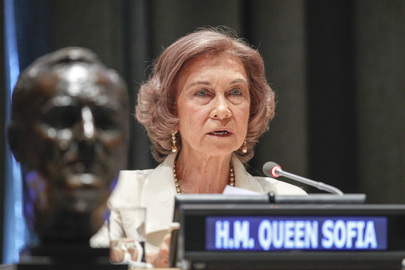 Queen of Spain Accepts International Disability Rights Award