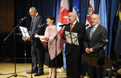 "Launch of CD, ""Ambassadors Sing for Peace"""
