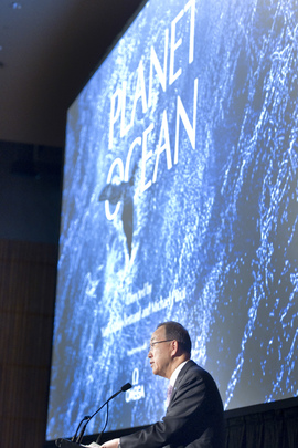 "Secretary-General at Screening of ""Planet Ocean"""