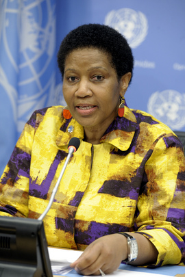 New UN Women Executive Director holds Press Conference