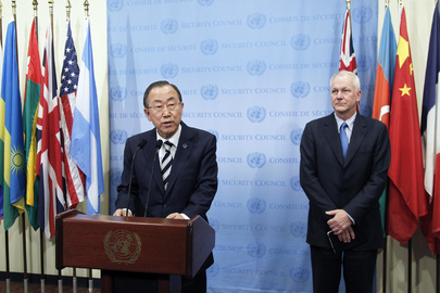 Secretary-General Briefs Press on Syria Report