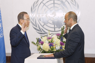 New UN Legal Counsel Sworn In