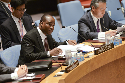Security Council Discusses Situation in Sierra Leone