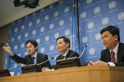 Permanent Representative of Viet Nam Speaks to Press