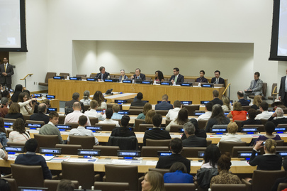 Student Conference Held ahead of International Peace Day