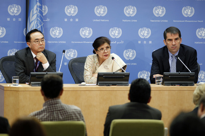 Press Conference on 2013 Report of MDG Gap Task Force