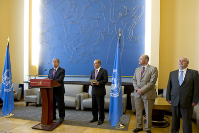 UNOG Director-General Swears in New Staff