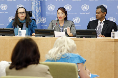 Press Conference on High-level Meeting on Disabilities and Development