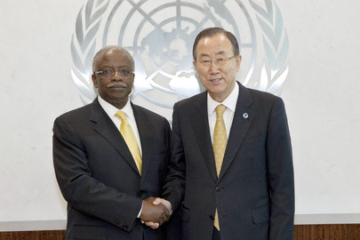 Secretary-General Meets Prime Minister of Uganda