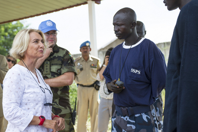 UNMAS Director Visits South Sudan