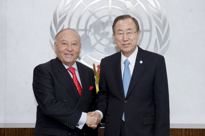 Secretary-General Meets Head of Latin American Development Bank