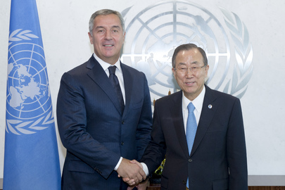 Secretary-General Meets Prime Minister of Montenegro