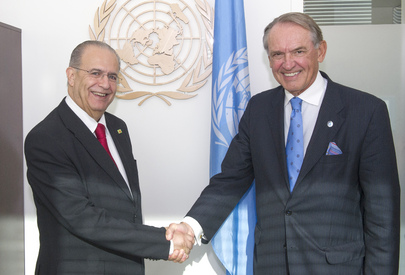 Deputy Secretary-General Meets Foreign Minister of Cyprus