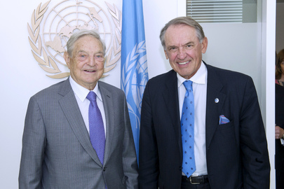 Deputy Secretary-General Meets Founder of Soros Fund Management