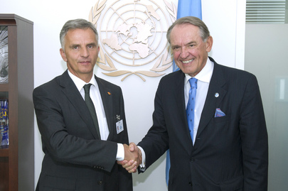 Deputy Secretary-General Meets Swiss Foreign Minister