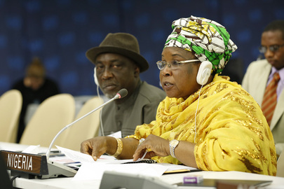 Nigeria's Women Affairs Minister Addresses High-level Meeting on Disability and Development