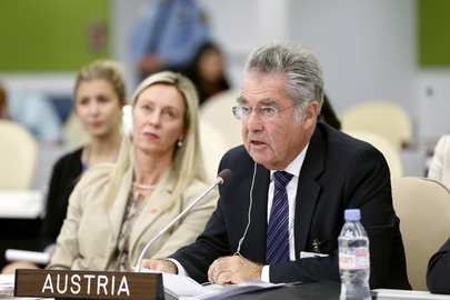 Austrian President Addresses High-level Meeting on Disability and Development