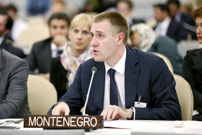 Foreign Minister of Montenegro Addresses High-level Meeting on Disability and Development