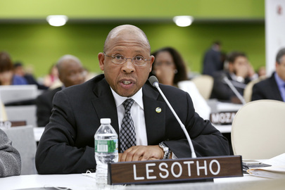 Lesotho Development Planning Minister Addresses High-level Meeting on Disability and Development