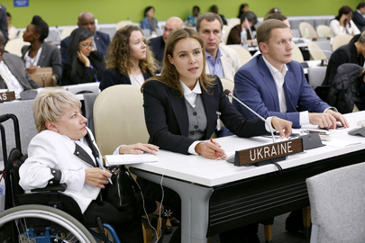 Social Policy Minister of Ukraine Addresses High-level Meeting on Disability and Development