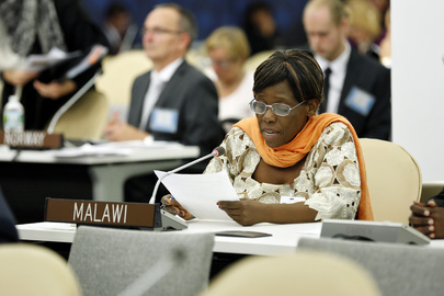 Malawian Minister Addresses High-level Meeting on Disability and Development