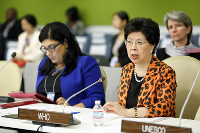 Head of WHO Addresses High-level Meeting on Disability and Development