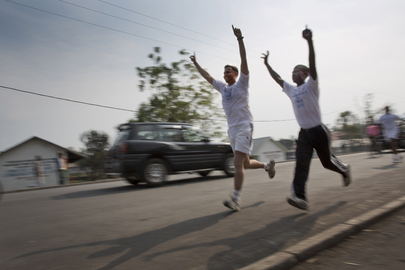 """Peace Run"" Marks International Day of Peace in Goma"