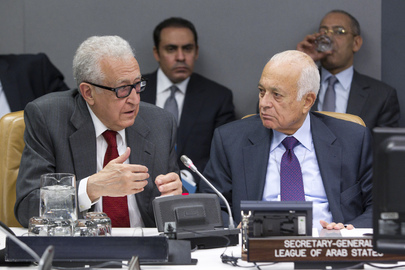 Arab League Ministers Discuss Syria on Margins of UN General Assembly