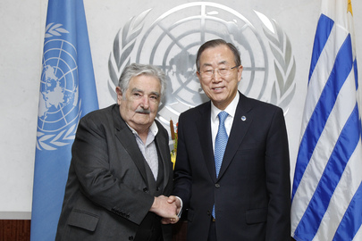 Secretary-General Meets President of Uruguay