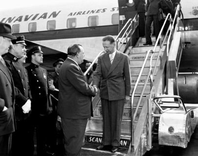 Secretary-General Designate Arrives in New York