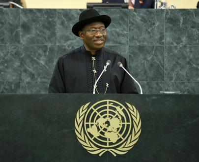 H.E. Mr.Goodluck Ebele Jonathan
