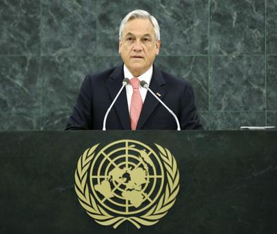 H.E. Mr.Sebastián Piñera Echeñique