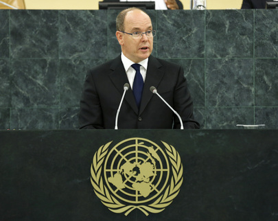 His Serene Highness Prince Albert II