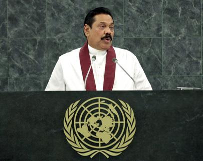 H.E. Mr.Mahinda Rajapaksa