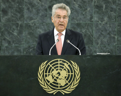 President of Austria Addresses General Assembly