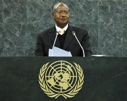 President of  Uganda Addresses General Assembly