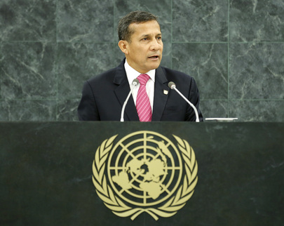 H.E. Mr.Ollanta Humala Tasso