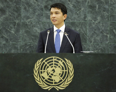 H.E. Mr.Andry Nirina Rajoelina